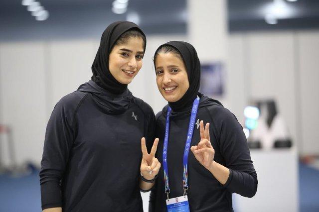 ناکامی بانوان سابریست ایران در بخش انفرادی بازی های آسیایی
