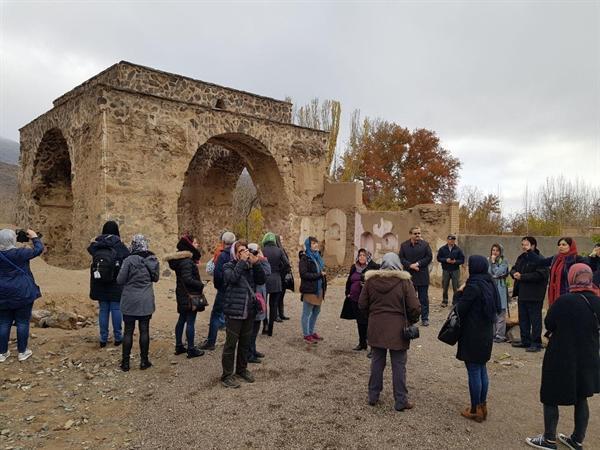 گردهمایی فعالان گردشگری 17 کشور در باغ شهر تاریخی نطنز