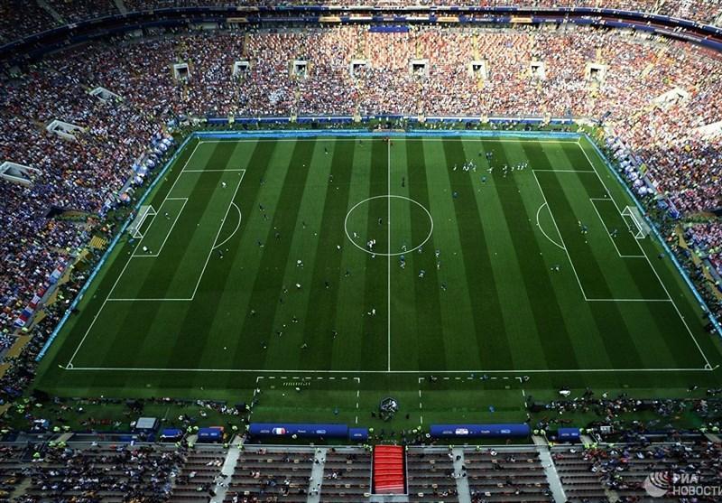 لوژنیکی مسکو بهترین استادیوم دنیا از منظر دید زمین از روی سکوها