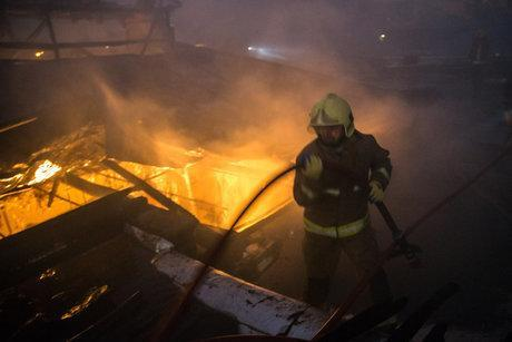 آتش سوزی در کمپ ترک اعتیاد بانوان