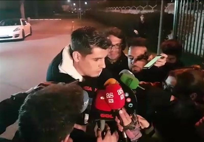 موراتا برای عقد قرارداد با اتلتیکو به مادرید برگشت