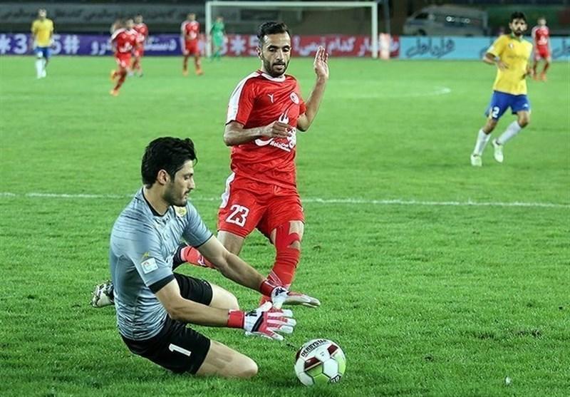 لیگ برتر فوتبال، پدیده در خانه صنعت نفت آبادان متوقف شد، شاگردان گل محمدی همچنان در رده سوم