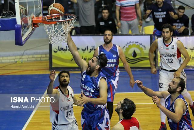 شیمیدر تهران پیروز بازی دوم نیمه نهایی شد