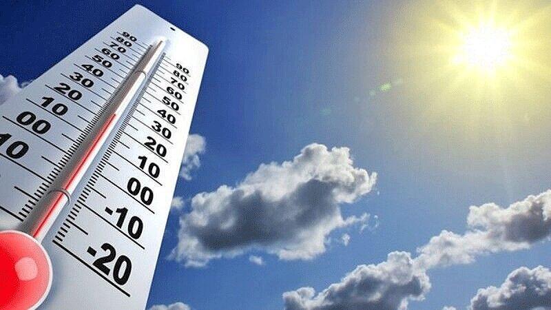 هوای کشور گرم تر می گردد