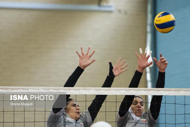 قهرمانی بانوان والیبالیست ایران در تورنمنت کرواسی