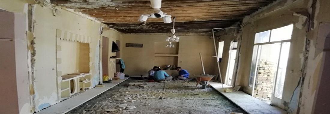 حسینیه سیدرضی قزوین سامان دهی و مرمت می گردد