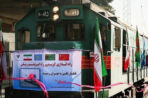 ایران از کریدور ریلی راه ابریشم حذف نشده است