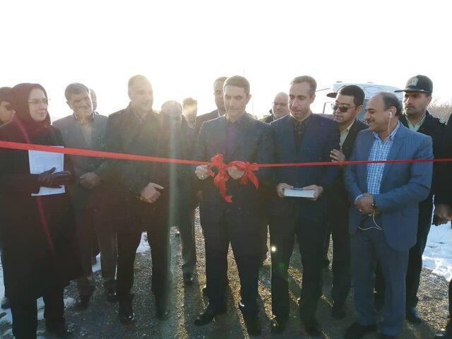 پروژه آبیاری تحت فشار روستای ریز شازند افتتاح شد