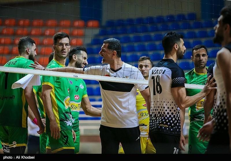 تیم والیبال کاله یک جلسه محروم از همراهی تماشاگران، خداوردی تذکر کتبی گرفت